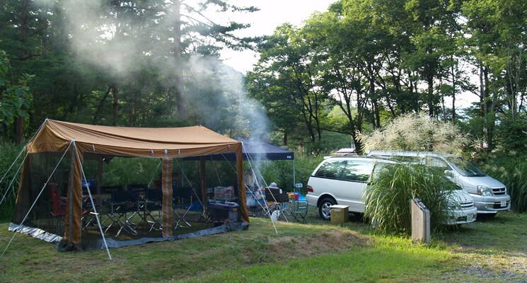 さくら街道みぼろ湖畔キャンプサイトの画像mc13083