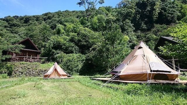 立神峡里地公園 キャンプ場の画像mc8153