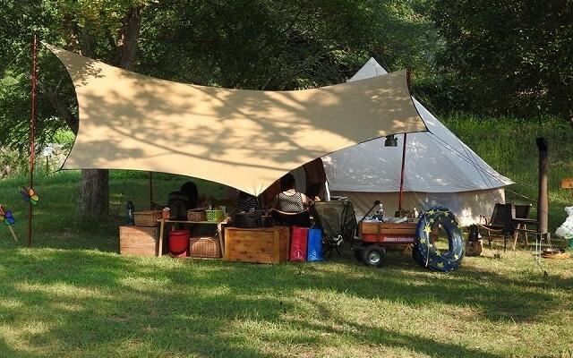 立神峡里地公園 キャンプ場の画像mc8156