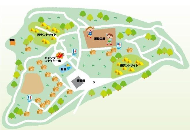 わらび平森林公園キャンプ場 の公式写真c7650