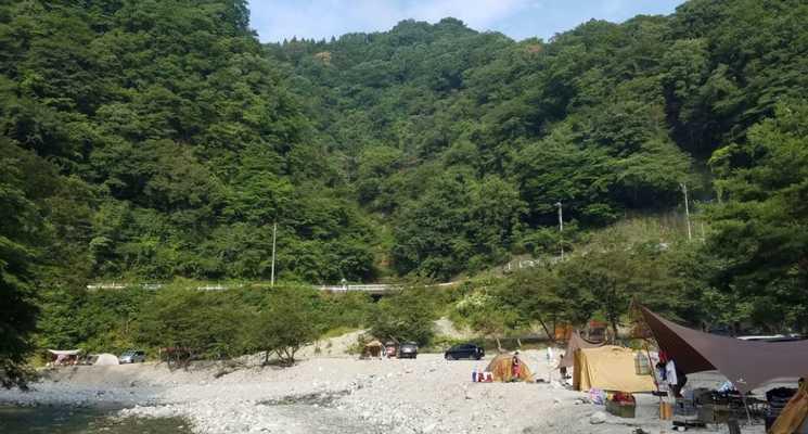 西丹沢 大滝キャンプ場の画像mc8635