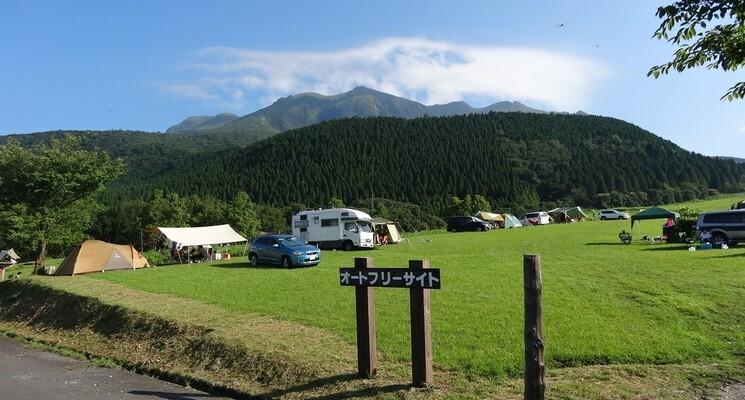 久住高原沢水キャンプ場の画像mc16943