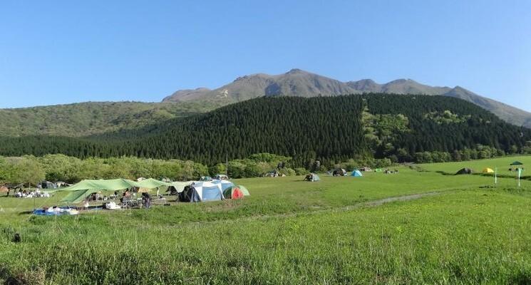 久住高原沢水キャンプ場の画像mc6703