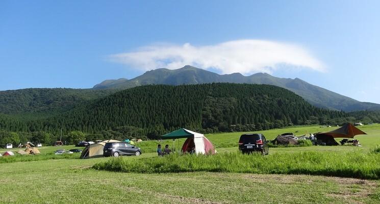 久住高原沢水キャンプ場の画像mc6734