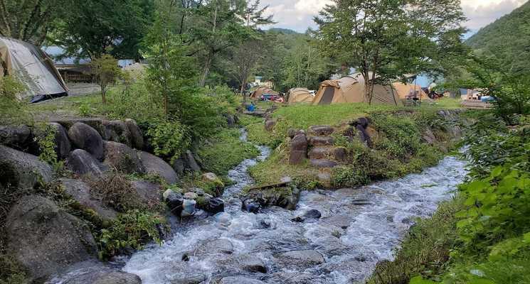 小黒川渓谷キャンプ場の画像mc3390