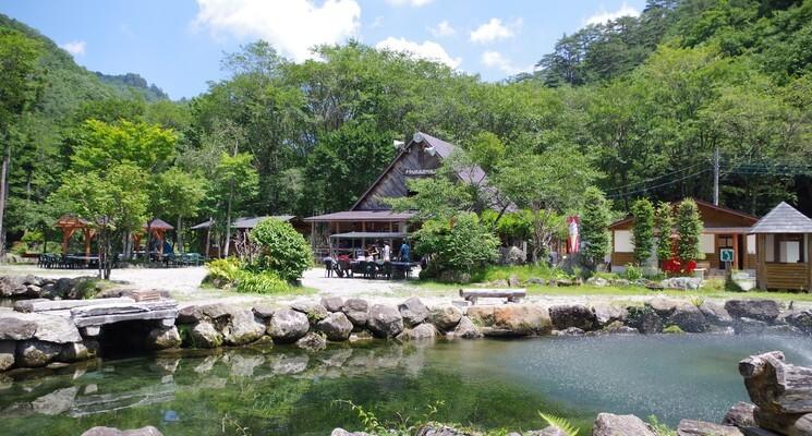 ナラ入沢渓流釣りキャンプ場の画像mc14204