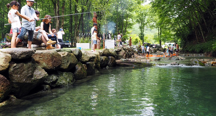 ナラ入沢渓流釣りキャンプ場の画像mc14209