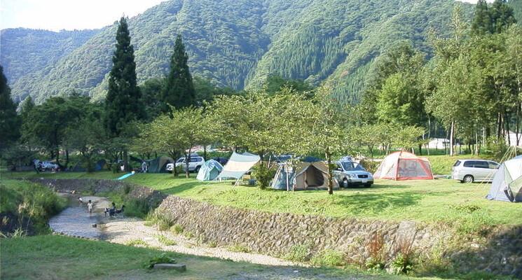 九頭竜国民休養地キャンプ場の画像mc6564