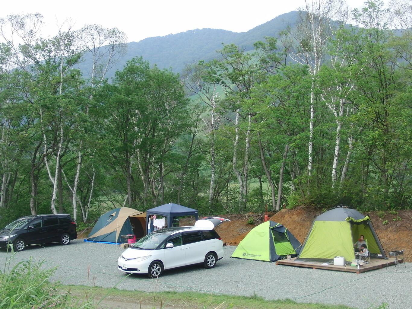 高原 場 斑尾 キャンプ