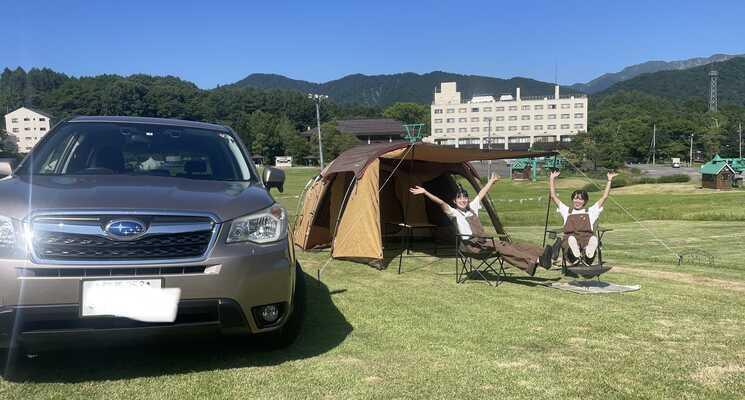 奥利根温泉ホテルサンバード白樺キャンプ場の画像mc6170