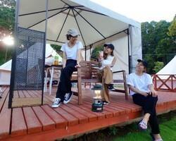 【CAMP】<リバーサイド>暖房付き冬CAMP カフェでのディナーコース 画像