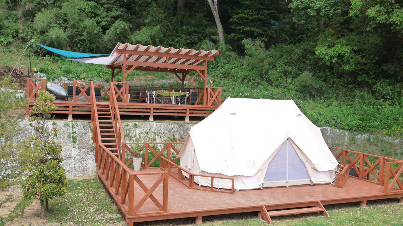 【CAMPグランテラス】1日1棟限定のTHE FARM CAMPの最高グレイドのお部屋!ドリンクオールインクルーシブ! 画像