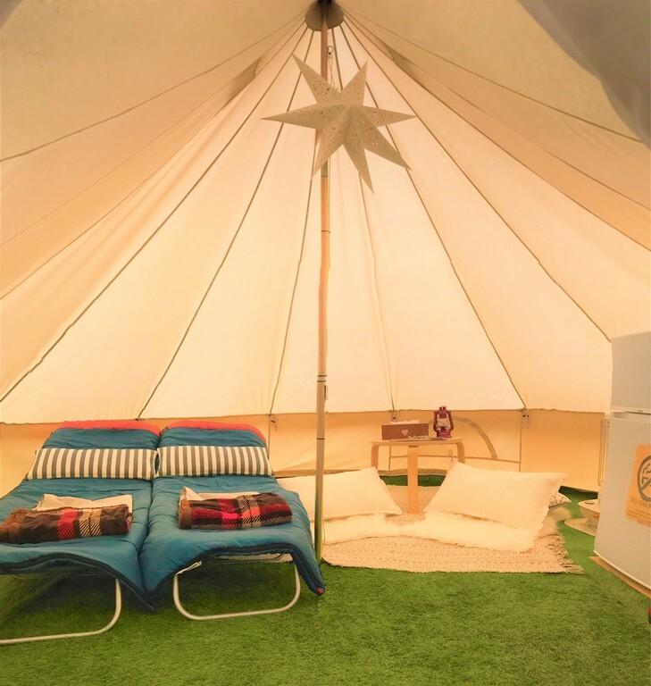 ☆約7.5畳 2~5名様までご利用可能なテントサイト(冬季4名まで) 画像