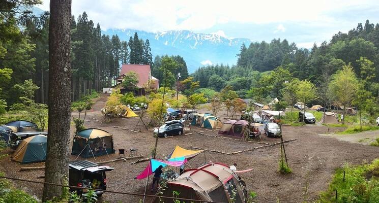 白馬森のわさび農園オートキャンプ場の画像mc9192