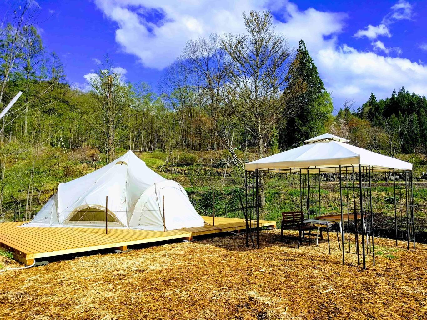 白馬森のわさび農園オートキャンプ場 の公式写真c12439