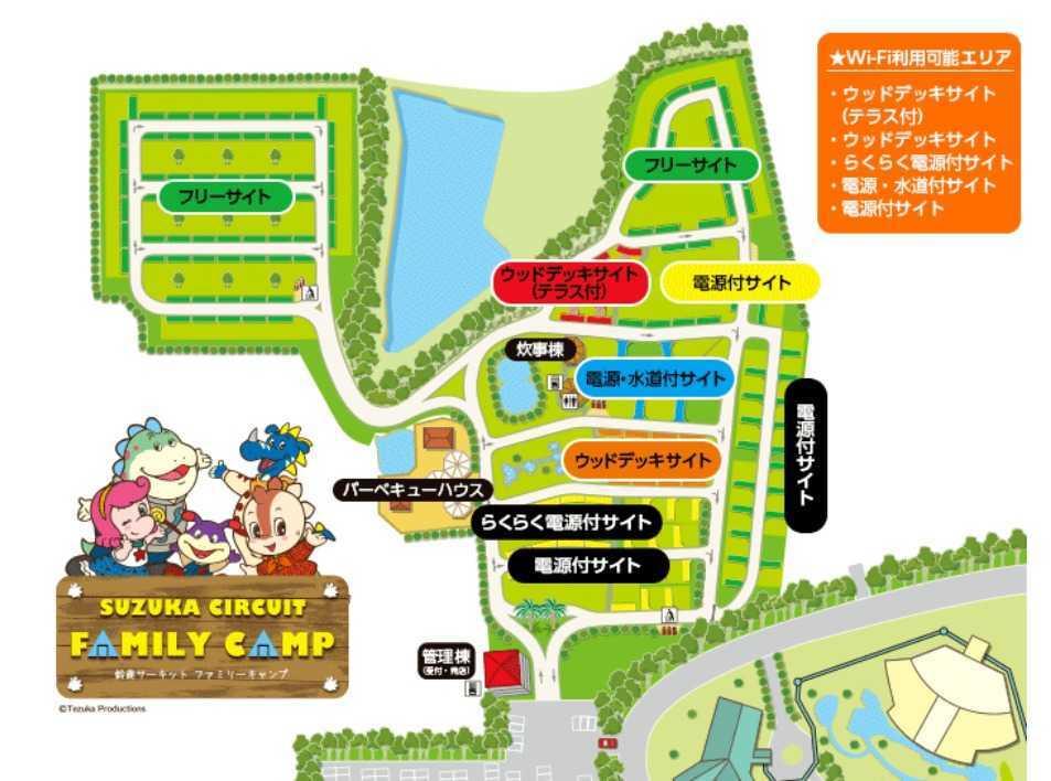 鈴鹿サーキット ファミリーキャンプ の公式写真c8902