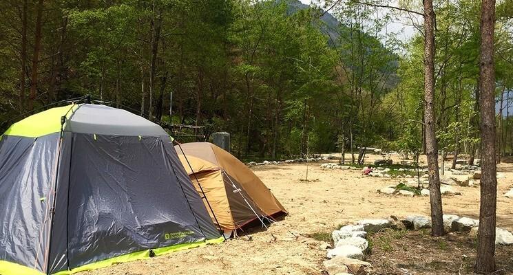 天然温泉源泉かけ流し 心笑キャンプ場の画像mc9422