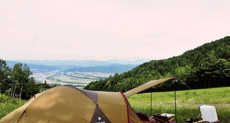 【H30/2 現在キャンプ場営業終了】長野・伊那きのこ王国キャンプ場 の画像mc9695