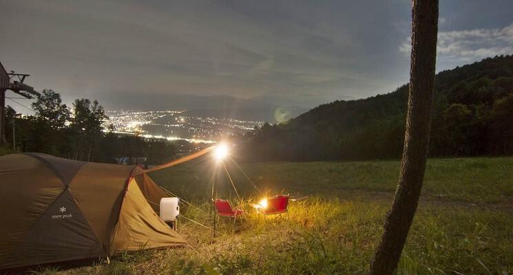 【H30/2 現在キャンプ場営業終了】長野・伊那きのこ王国キャンプ場 の画像mc9697