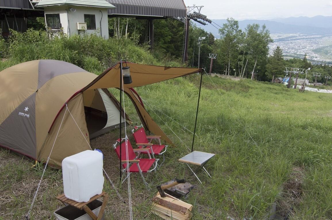 【H30/2 現在キャンプ場営業終了】長野・伊那きのこ王国キャンプ場  の公式写真c9704