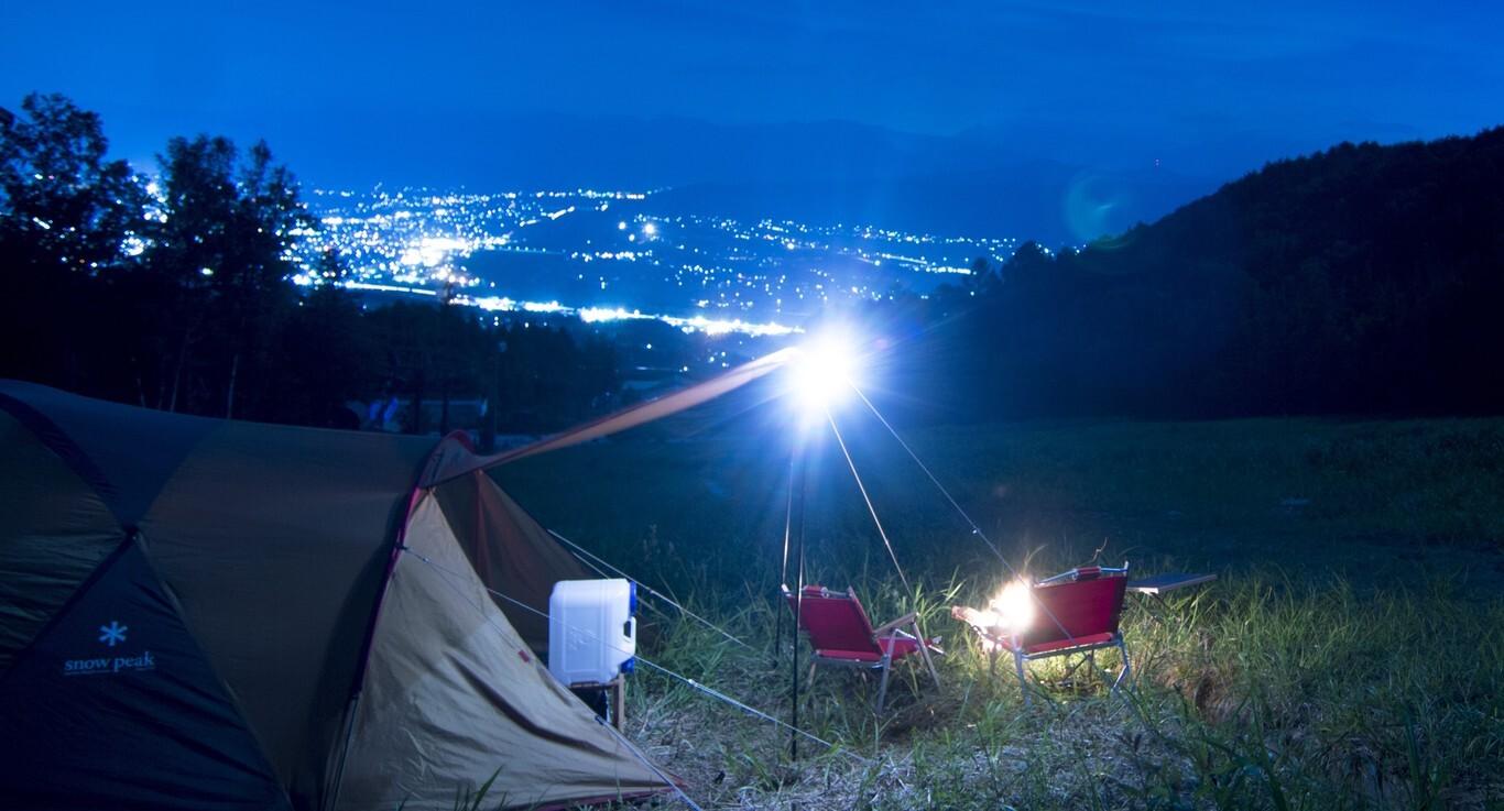【H30/2 現在キャンプ場営業終了】長野・伊那きのこ王国キャンプ場  の公式写真c9778