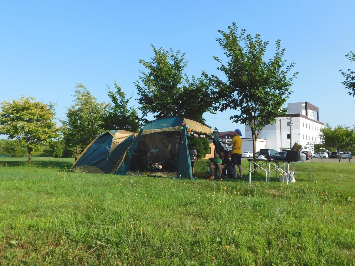 栗山さくらキャンプ場 の公式写真c10727