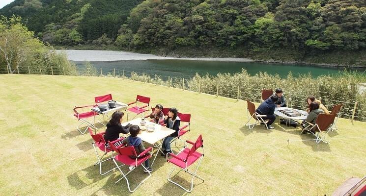 スノーピークおち仁淀川キャンプフィールドの画像mc12124