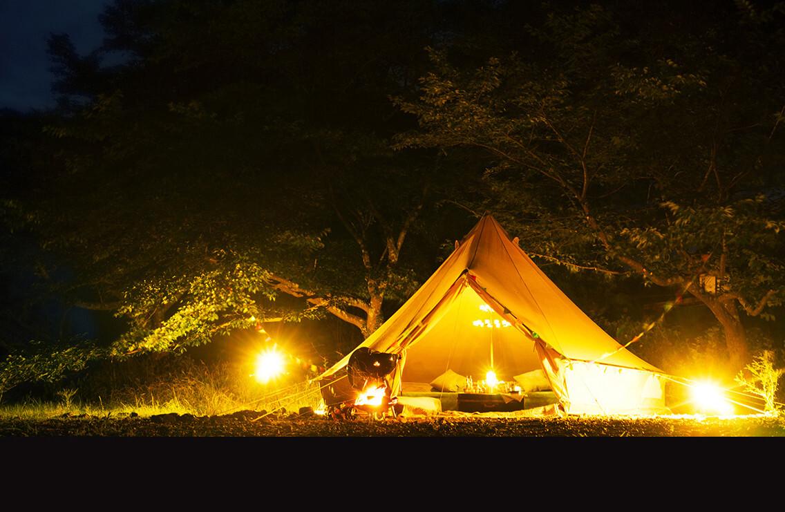 リバーサイドキャンプときがわ グランピングサイト 【A】 画像