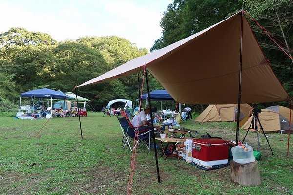 場 茨城 キャンプ