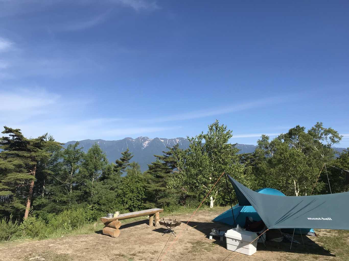 陣馬形キャンプ場 の写真p