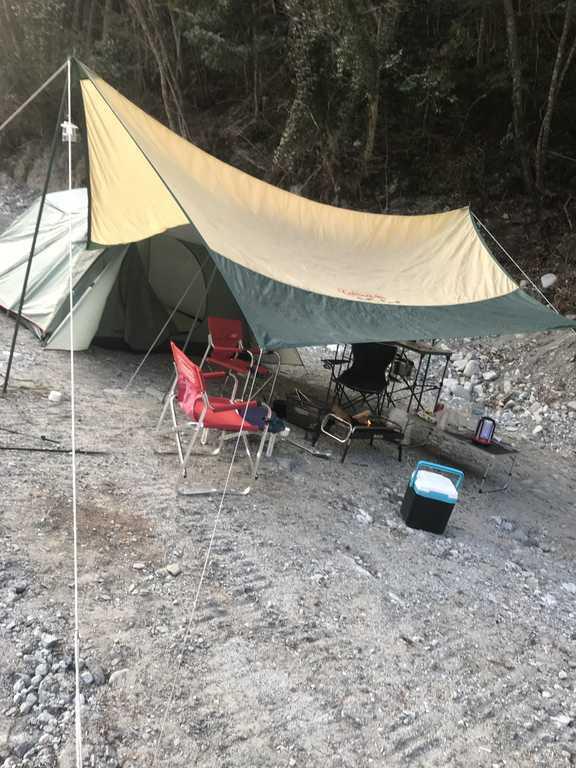 西丹沢 大滝キャンプ場 の写真p