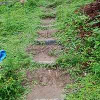 土道の階段?