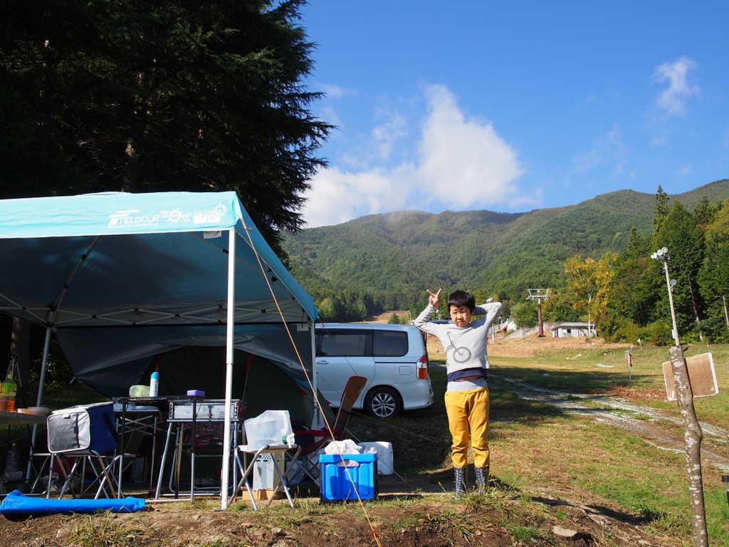 【H30/2 現在キャンプ場営業終了】長野・伊那きのこ王国キャンプ場  の写真p