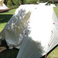レンタルしたテント
