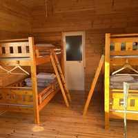 2段ベッドが2つ
