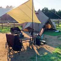 キャンプサイトの雰囲気