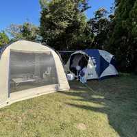 久々の15年前のテントで泊
